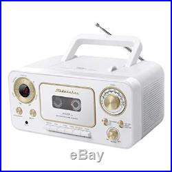 Studebaker SB2135WG Portable CD Player with AM/FM Radio and Cassette Player/Reco