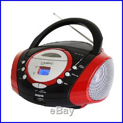 Supersonic Portable Mp3/Cd Player With Usb/Aux Input amp Am/Fm Radio