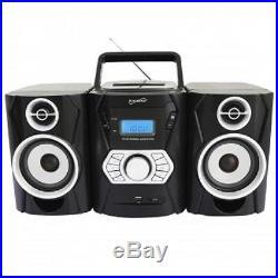 Supersonic SC-806BT PORTABLE BLUETOOTH MP3/CD PlayerWith USB/SD/AUXAM/FM Radio