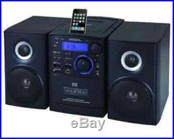 Supersonic SC805 Portable MP3/CD Player With iPod Docking USB/SD/AUX Inputs &