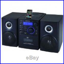 Supersonic SC805 Portable MP3/CD Player With iPod Docking, USB/SD/AUX Inputs