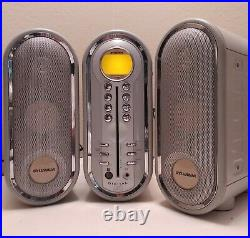 Sylvania SRCD909 Portable CD Player with AM/FM Radio, Working