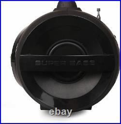 Toshiba Portable Bluetooth Wireless Boombox Speaker, CD Player, FM Radio TY-CWU