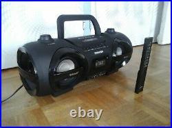 Toshiba ty cwu500 radio cd usb sd boombox ghettoblaster