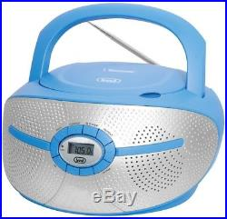 Trevi CMP 550 Portable Boombox CD And MP3 Player, PLL Digital FM Radio With And
