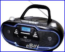 Trevi CMP574 Portable AM/FM Stereo Boombox With CD Player, Cassette Player / 20