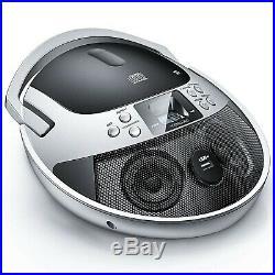 VENLOIC CD Player Portable Boombox with Radio, Portable CD Player Boombox, Po