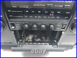 VTG Sony CFD-440 Portable Shelf Boombox Stereo System Am/Fm CD Cassette Player