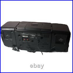 Vintage 94-95 JVC PC-X105 CD Cassette Portable System Player BoomBox