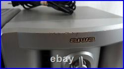 Vintage Aiwa CA-DW535 CD Player AM/FM Dual Cassette Portable Stereo Boombox