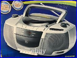 Vintage Boombox NEW Coby CX-CD248 Portable AM FM Cassette Recorder CD Player