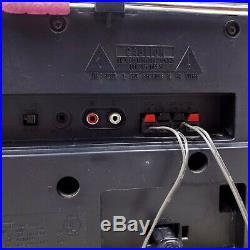Vintage Panasonic RX-DS620 Portable Boombox CD Cassette Tape Player AM FM Radio