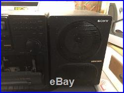 Vintage Sony CFD-755 AM FM CD Compact Disc Player Portable Boombox