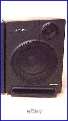 Vintage Sony CFD-770 AM FM CD Compact Disc Player Portable Boombox NOT TESTED