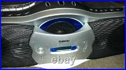 WORKING Sony CFD-F10 AM FM Radio Cassette Recorder CD Player Portable Boombox